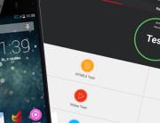Antutu benchmark  myPhone Infinity 3g