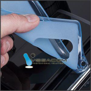 Etui na tył do LG LEON/LEON LTE wykonana jest z elastycznego silikonu