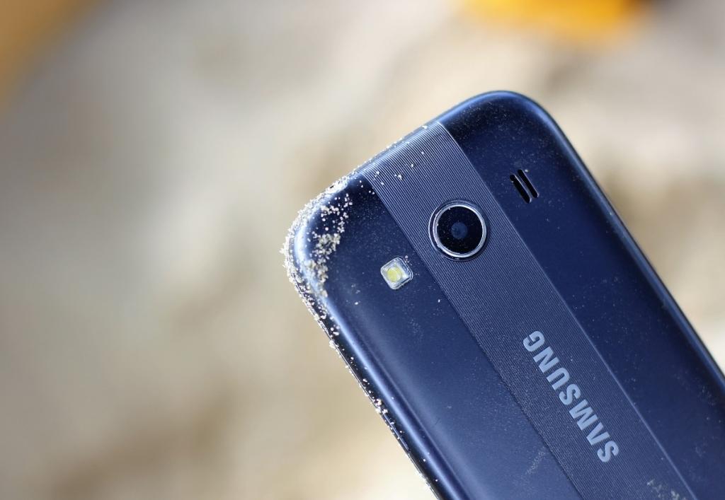 smartfon zapiaszczony