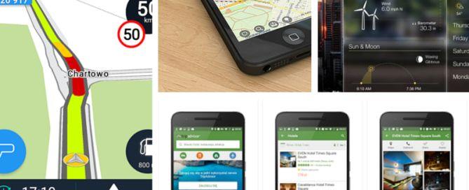 Apikacje na smartfona podróże