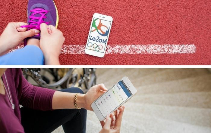 Aolikacje na smartfona Olimpiada RIO
